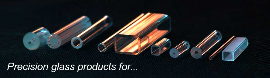 Precision glass for: